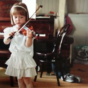 Sys med violin