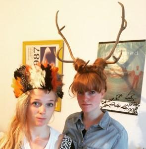 Bolette og Gunhild Bjerre