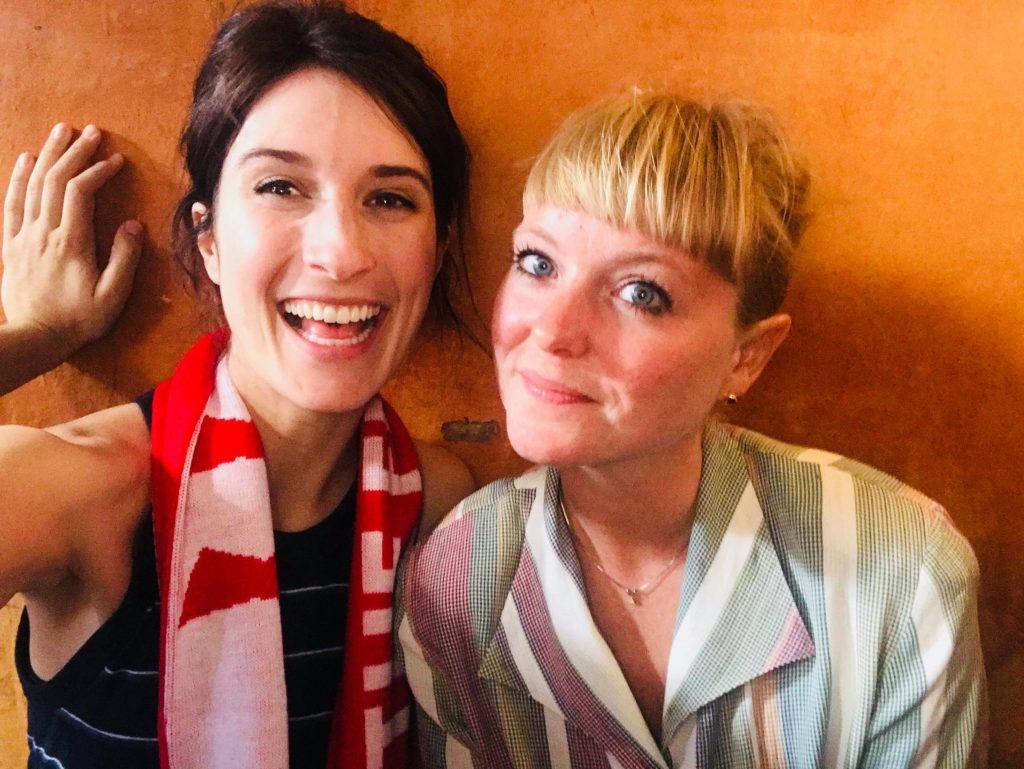 Sys Bjerre sammen med Vanessa, 2018