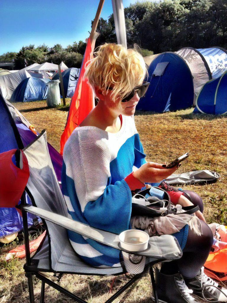 Sys Bjerre på festival