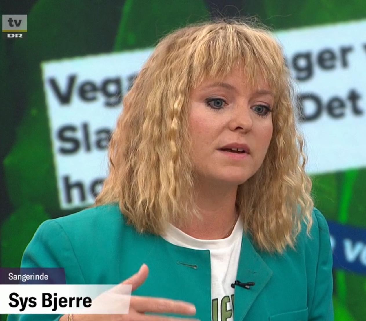 Sys Bjerre om at spise vegansk uden at dø – Aftenshowet